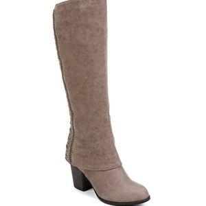 Fergalicious boots Truffle Tender suede tan 9.5M